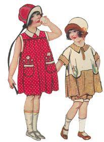Fashion Guide - Children 1920 - 1929 McCall's Fashion Catalogue
