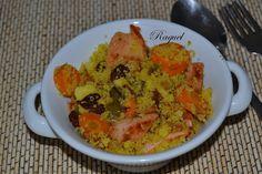 Mi Diversión en la cocina: Cous Cous de Verduras y Pavo Adobado