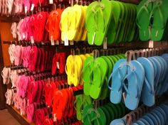 the sign of summer. thanks department stores. -Dreaming Of A PINK Summer!