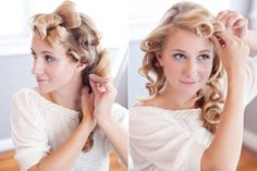 DIY Wedding hair messy chignon  #weddinghair #budgetwedding brieonabudget.com/ Messy Hairstyles, Wedding Hairstyles, Messy Chignon, Diy Wedding Hair, Airbrush Makeup, Budget Wedding, Makeup Tips, Hair Styles, Beautiful