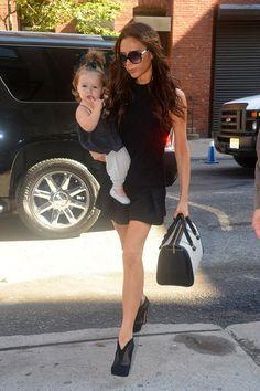 Victoria Beckham wearing Victoria Beckham.