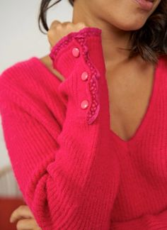 #camisola #jersey #fúchsia #fucsia #marplazashowroom facebook.com/marplazashowroom