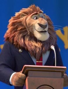 Mayor Lionheart, Zootopia