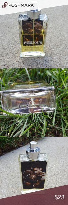 Furious pour homme perfume Half a bottle Furious pour homme Accessories
