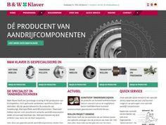 BW Klaver | B&W Klaver heeft een jarenlange ervaring in het produceren van kettingwielen, recht gefreesde tandwielen, tandriemschijven en skidrollen. http://www.bwklaver.nl/ #onlinesucces