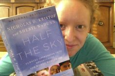 """Half the Sky"" by Nicholas Kristof and Sheryl WuDunn - Cincinnati, Ohio, USA"