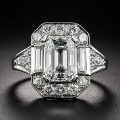 2.45 Carat GIA: E /VS1 Emerald-Cut Diamond Ring - Shop for Jewelry