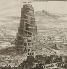 Turris Babel by Athanasius Kircher - Tower of Babel - Wikipedia, the free encyclopedia