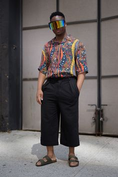 Street fashion: New York Fashion Week Men's wiosna-lato 2018