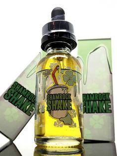 Shamrock Shake E Juice - Milkshake E Liquids