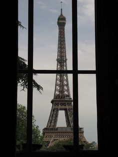 from the Architecture Museum located on the Trocadero in front of the Eiffel Tower