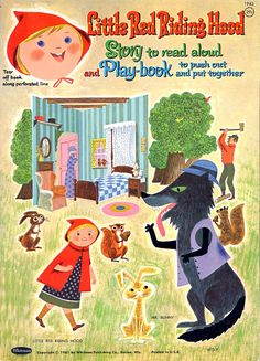 Little Red Riding Hood, 1961 - papercat - Picasa Albums Web
