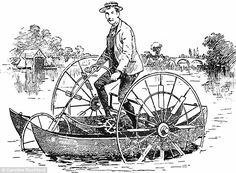 All-terrain vehicle:The road and river cycle was introduced in America for travelling acr...