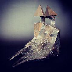 Lynn Chadwick 'Sitting Couple' Lynn Chadwick, Contemporary Sculpture, Artist, Couple, Artists, Amen, Couples