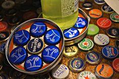 Beer cap coasters