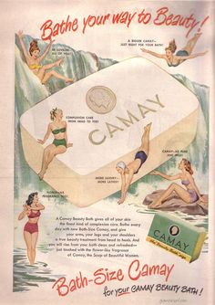 Camay Soap Advertisement 1940s