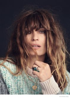 Caroline for Matches--Launching the third issue of its magazine, fashion retailer Matches Fashion taps Caroline de Maigret for a story featuring relaxed fa