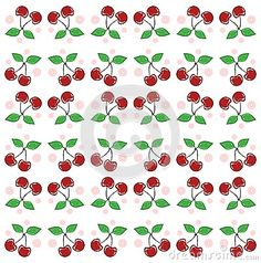 Illustration representing a some cherries. A nice idea usable as background in projects about this fruit.