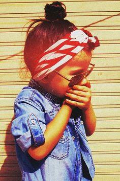 Fashionable kid. So many styles I wanna do for Bria! :)