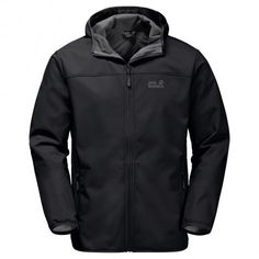 Jack Wolfskin Northern Point softshell heren black