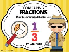 Looking for some fun and engaging ways to practice comparing fractions?  Try these activities which use number lines and benchmarks to help your students.