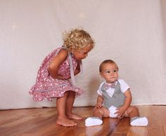Brother sister Christmas Christmas sibling outfits by haddygrace, $62.50