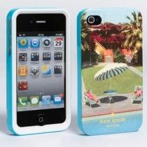 Kate Spade case for iphone 4 /4s Summer very like kate spade bags