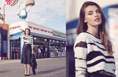 Alice & Olivia Fall Lookbook: More Proof Coney Island is the Place to Be #bePickie