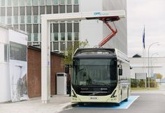 Volvo Buses & ABB Electric Bus Charging Station Based On OppCharge Interface