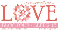 Moda Love Blog Tour – Sept 2-13  Save the Dates