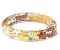 Fall Leaves Jewelry Flower Jewelry Leaf by ModernFlowerChild
