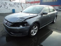 Salvage 2013 VOLKSWAGEN PASSAT TDI for sale  THIS IS A SALVAGE REPAIRABLE DIESLE VEHICLE WITH FRONT END COLLISION DAMAGE. CAR RUNS . DRIVES HAS LEATHER INTERIOR AND ALL AIRBAGS INTACT.For more information and immediate assistance, please call +1-718-991-8888