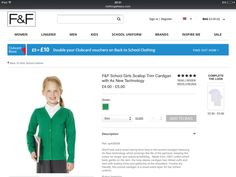 F&F school uniforms - Minnie