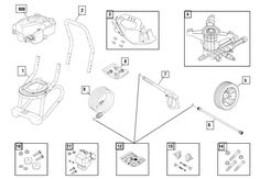 Troy-Bilt 020296-0 Parts List and Diagram