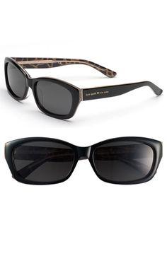 fa690a393f kate spade new york  ginnie  polarized sunglasses available at  Nordstrom  Giraffe Print