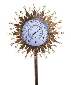 Look what I found on #zulily! Standing Sun Thermometer #zulilyfinds