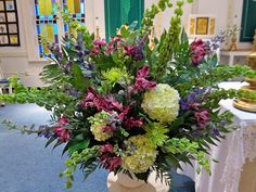 Church Flowers - Bette's Finishing Touch (RI)