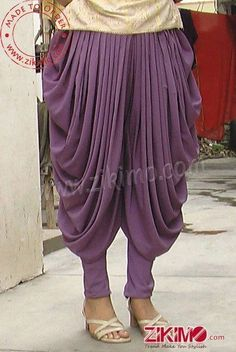 Made To order Gorgeous Cotton Satin Grey Punjabi Patiala Salwar 1 Patiala Salwar, Dhoti Salwar Suits, Salwar Pants, Sharara, Salwar Designs, Blouse Designs, How To Wear Dhoti, Salwar Pattern, Outfit Trends