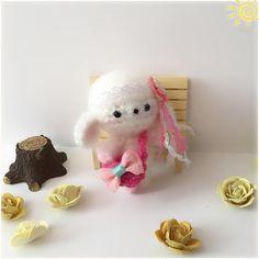 Lamb Amigurumi Lamb Plush Crochet Lamb Miniature Lamb for