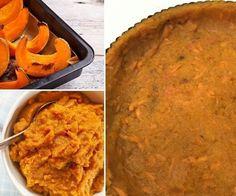 Cómo hacer una tarta con base de calabaza, ¡sin harina! - base