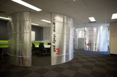 Griffith University GC Library - Group Study Pods