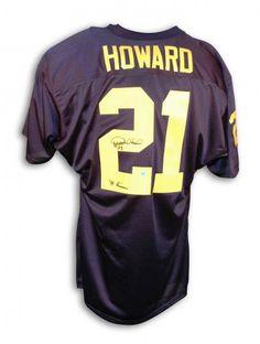 Desmond Howard Autographed Jersey - 91 Heisman. Desmond HowardMichigan BlueCharles  WoodsonHeisman TrophyPromotional EventsCollege Football ... 8b0467353