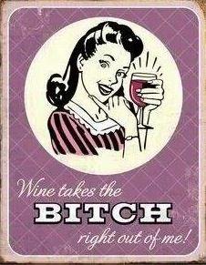 Wine makes me happy...oh so very happy