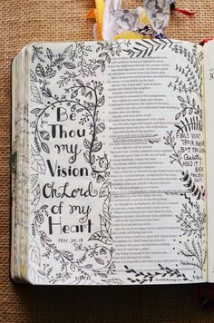Proverbs 29:18 (left side of page), January 28, 2017, carol@belleauway.com, Illustrated Faith pen, bible art journaling, bible journaling, illustrated faith