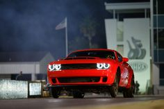 Since this is r/musclecar here is Hot Rod Magazine's review of the 2018 Dodge Challenger SRT Demon #musclecar #car #cars #mopar #auto