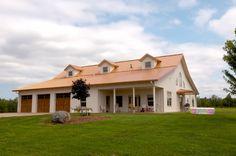 Nice pole barn home.....Alissa's Home » Morton Buildings » 3801