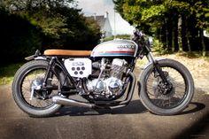 1976 Honda CB750 four custom