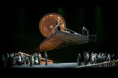 Tosca from Teatro Carlo Felice di Genova. Production, sets and costumes by Davide Livermore.