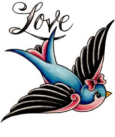 classic heart tattoo designs | Old School Tattoos Classics