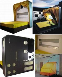 It's simpler to find the fun around you whenever you make an attempt to be happier. Like see all of this creative beds design ideas, some of them are tickles and will make you laugh, but trust me you will be interested with this creative beds ideas.
